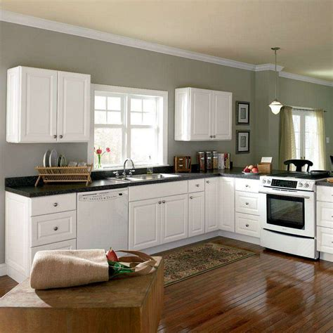 White Kitchen Cabinets Home Depot Timeless Kitchen Idea Antique White Kitchen Cabinets