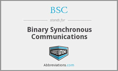 bsc binary synchronous communications