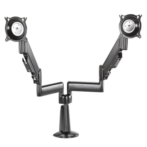 Dell Monitor Arm Desk Mount by Height Adjustable Dual Arm Desk Mount Dual Monitor
