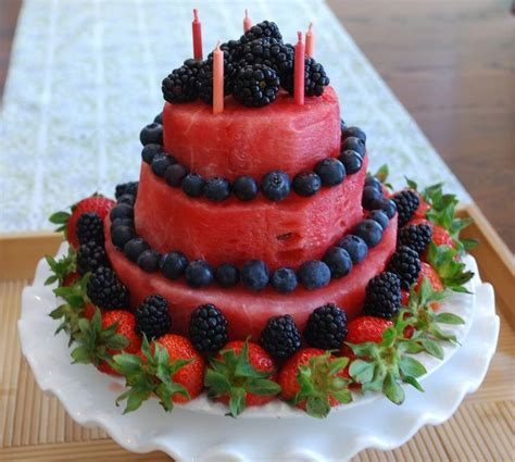 Watermelon Cake Decorating Ideas by 17 Best Ideas About Watermelon Cakes On Melon