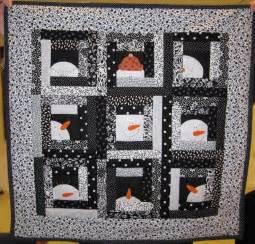 best 25 snowman quilt ideas on