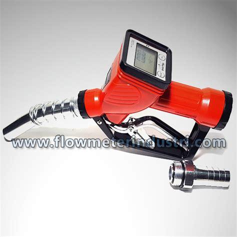Bengas 3 4 Automatic Fuel Nozzle With Flowmeter jual fuel nozzle with digital flowmeter dly 25 nozzel gun digital bengas