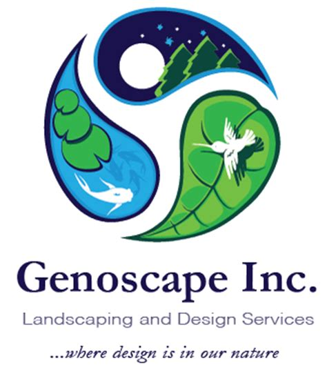 Logo Aquascape by Genoscape Inc Landscaping Design Services In Markham