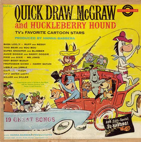 theme song quick draw mcgraw quick draw mcgraw and huckleberry hound tv s favorite