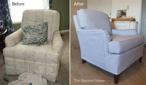 Slipcovers Living Room Chairs Drexel Chair Before After Slipcover Living Room Chairs With Slipcovers