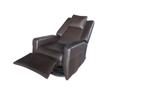 slim rocker recliner slim italian design rocker recliner also swivels the