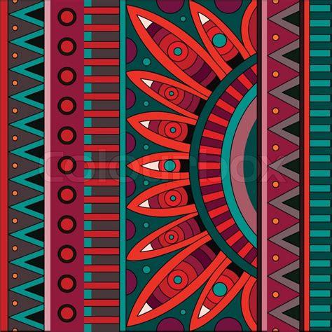 Dekor Muster by Dekor Fall Muster Vektorgrafik Colourbox