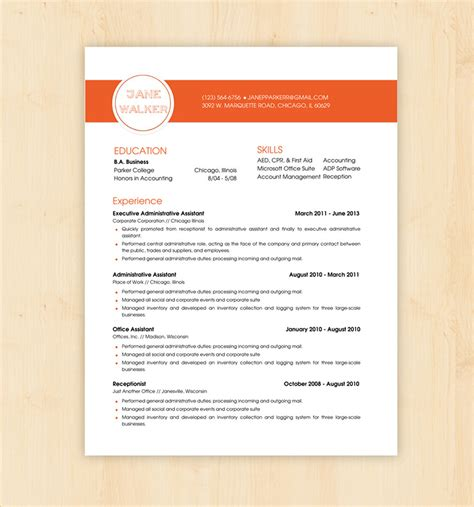 What Does Mba In Drive Format by Resume Templates Doc Executive Resume Template Doc