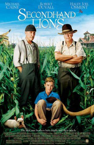 comedy film uses secondhand lions a 2003 comedy drama tells the story of