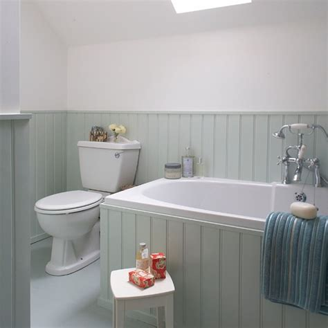 bathroom paneling ideas aqua tongue and groove bathroom housetohome co uk