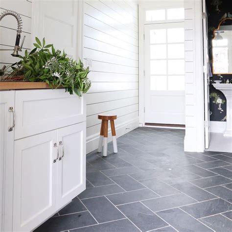 blue slate tile bathroom 25 best ideas about tile floor kitchen on pinterest