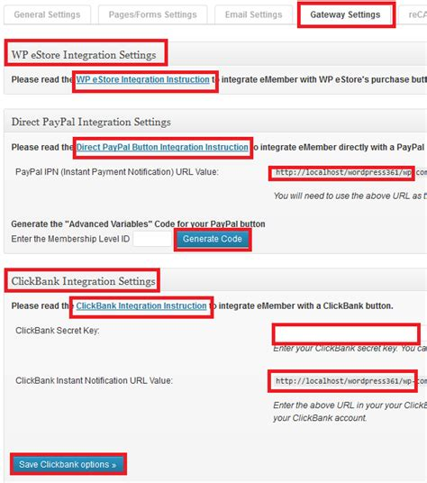 tutorial php paypal wp emember plugin gateway custom fields mbrsolution