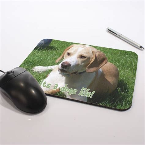 Personalised Mouse Mats by Personalised Mouse Mat The Gift Experience