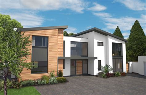 buy modern house new build homes logo and branding holland park exeter
