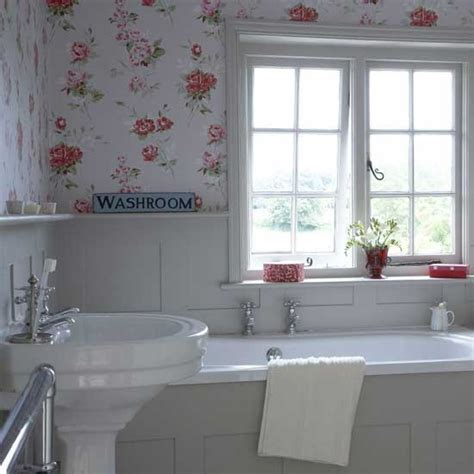 small bathroom wallpaper home design ideas pictures quem disse que nao pode usar papel de parede em banheiro