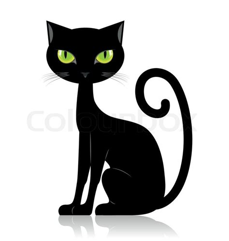 Caterpillar Ct11248 Free Box Yellow Black black cat isolated on white background stock vector colourbox