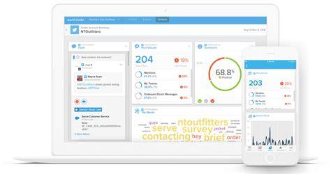 Engage Customers With Social Media Marketing Salesforce Com Data Studio Social Media Template