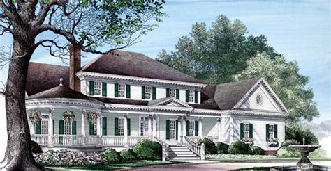 historic southern house plans colonial farmhouse plantation southern victorian house plan 86192