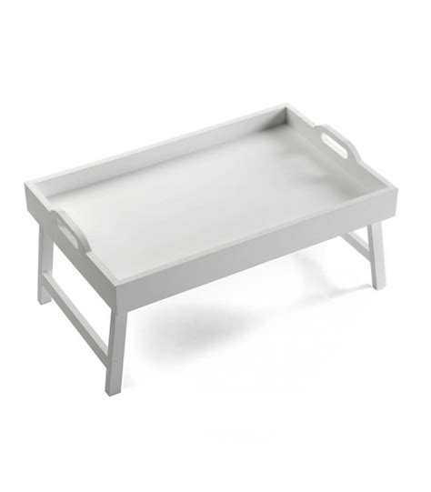 plateau petit dejeuner lit plateau tournant rond en marbre blanc wadiga