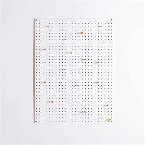 white pegboard with wooden pegs small by block design block pegboard with wooden pegs large white toys games