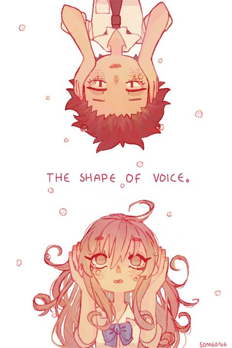 the shape of voice the shape of voice by someone chan on deviantart