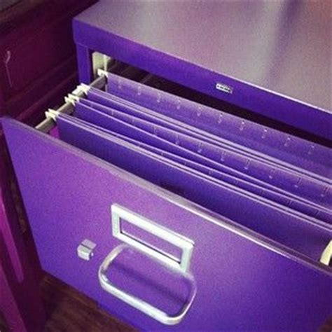 Purple Filing Cabinet Purple File Cabinet Purple Crush