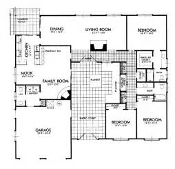 center courtyard house plans center courtyard ranch house ideas