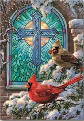 cardinal religious boxed christmas cards