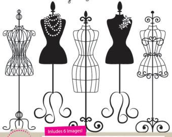 dress form clipart | etsy