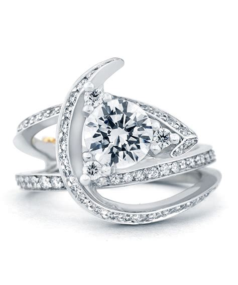 luxury engagement ring designers luxury contemporary engagement ring schneider design
