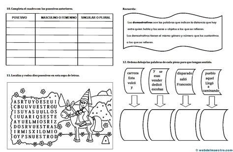 preguntas sobre guias alimentarias ejercicios de lengua 2 web del maestro