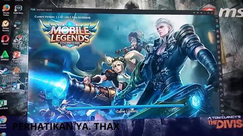 tutorial mobile legend pc tutorial cara ngecheat dan main mobile legends game