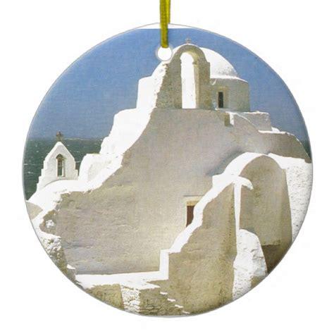 vintage greece myconos greek orthodox church christmas