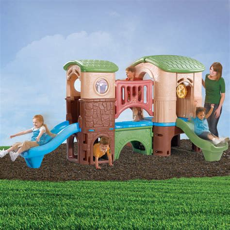 step 2 naturally playful playhouse climber and swing extension step2 naturally playful clubhouse climber and swing