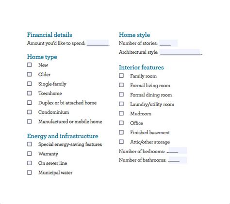 buying a house checklist template buying a house checklist template 28 images buying a home checklist template word