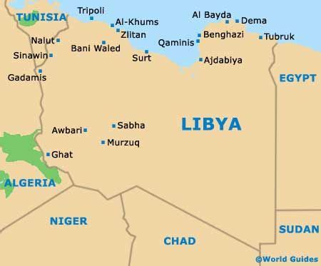 libya map with cities map of libya with cities search maps