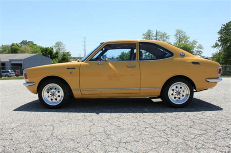 1971 Toyota Corolla Spectacular 1971 Toyota Corolla Coupe Only