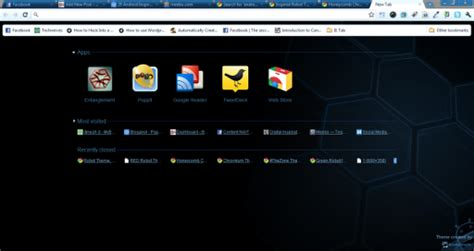theme chrome for android top 5 android inspired google chrome themes