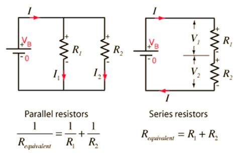 calculation of resistors in series and parallel p13 electric circuits mr tremblay s class site