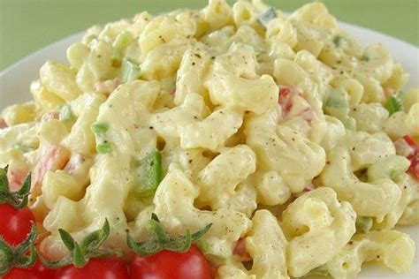 classic pasta salad classic macaroni salad salid pinterest