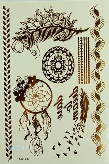 tattoo prices ct leaf flower jewelry sticker tattoo metallic tattos golden