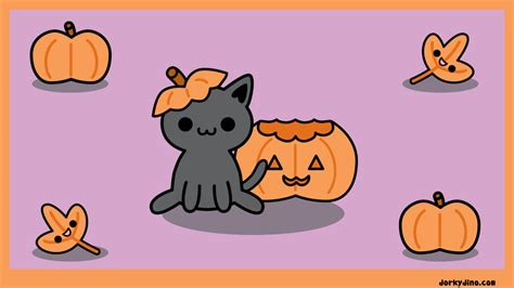imágenes de halloween kawaii halloween kitty wallpaper by brandimillerart on deviantart