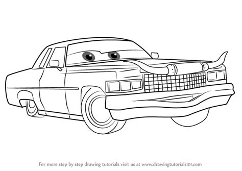 Cars 3 Sketches by Tex Dinoco Coloring Pages Coloring Coloring Pages