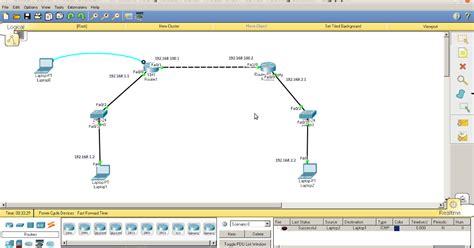 makalah tutorial cisco packet tracer simulasi konfigurasi router dinamik routing ospf melalui