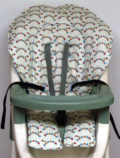 Graco High Chair Seat Pad Replacement by Graco Replacement High Chair Cover Trains