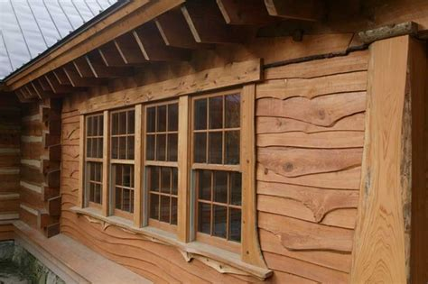 log siding boards log cabin siding materials and options wood vinyl or