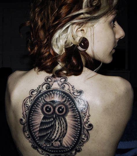 tattoo owl back 50 owl tattoos for girls