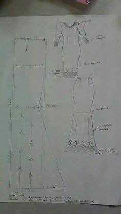 Dress Anak Bloise Kerut Leher pola jubah lelaki pola pattern drafting