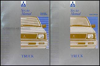 free online auto service manuals 1992 mitsubishi mighty max free book repair manuals 1992 1996 mitsubishi mighty max truck repair shop manual set original