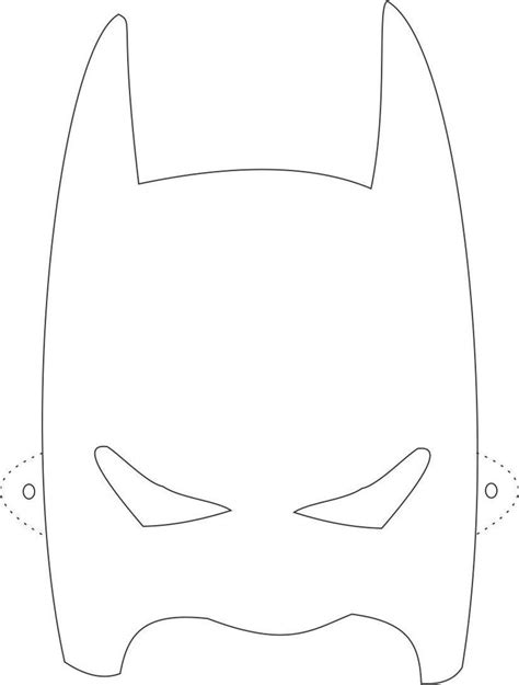 batman mask template beepmunk